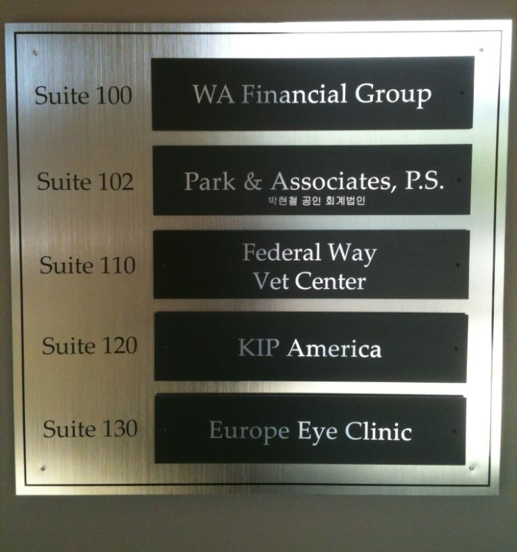 Directory Sign for Office