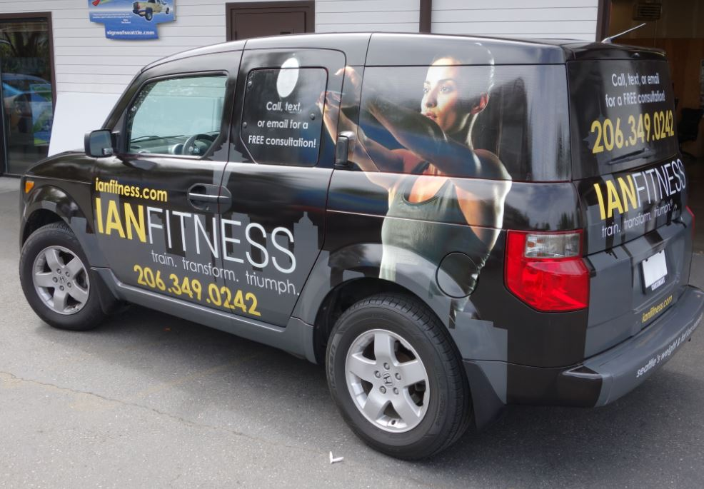 Vehicle Graphics Wrap
