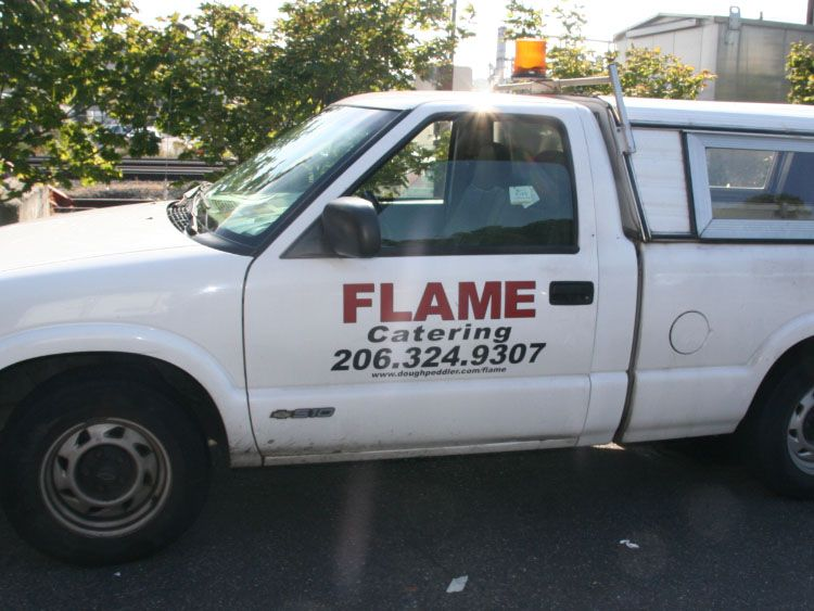 Truck Lettering and Logos