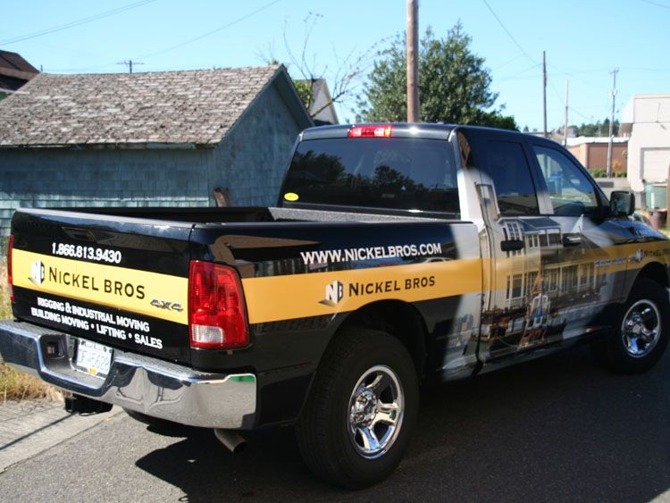 Pickup Truck Graphics Packages