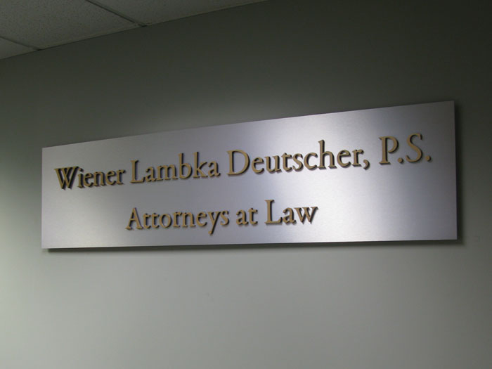 Law Office Sign