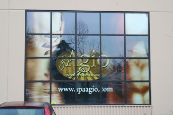Printed Window Graphic