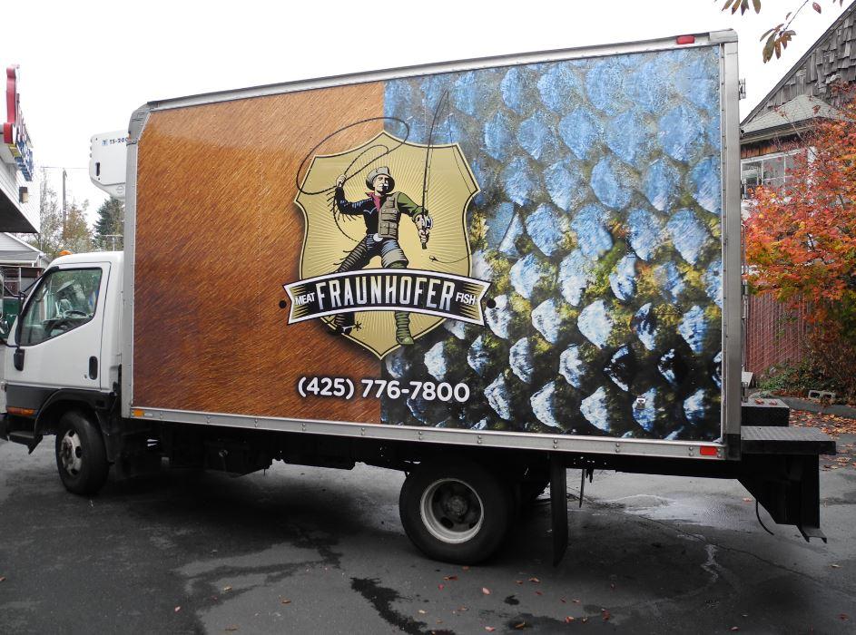 Box Truck Vinyl Graphics