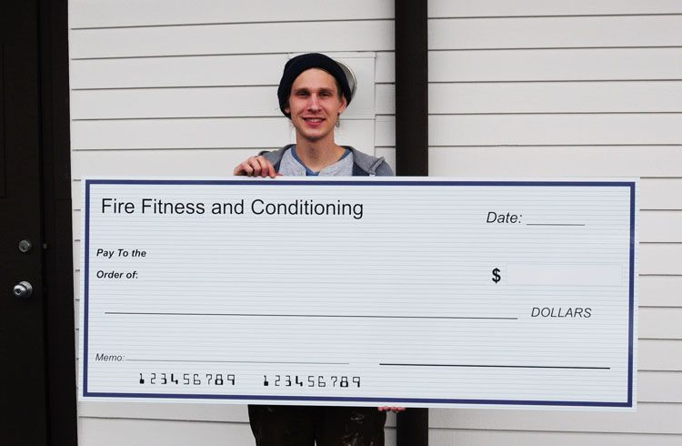 Giant Oversized Check