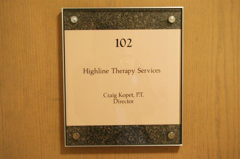 Medical Office Door Sign