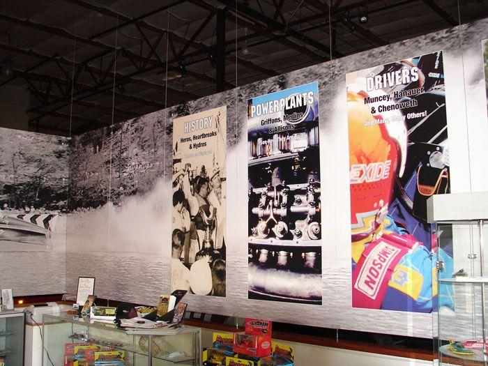Museum Graphics Display