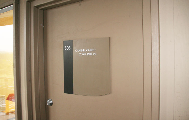 Custom Door Sign for Office