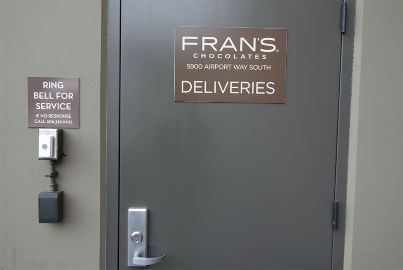 Door Signage for Business