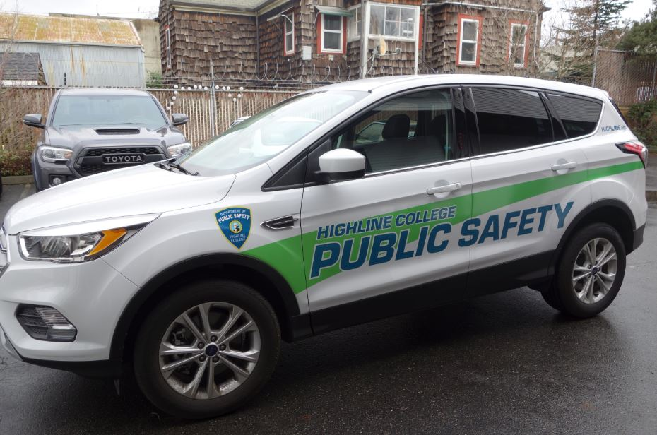 Security Vehicle Graphics