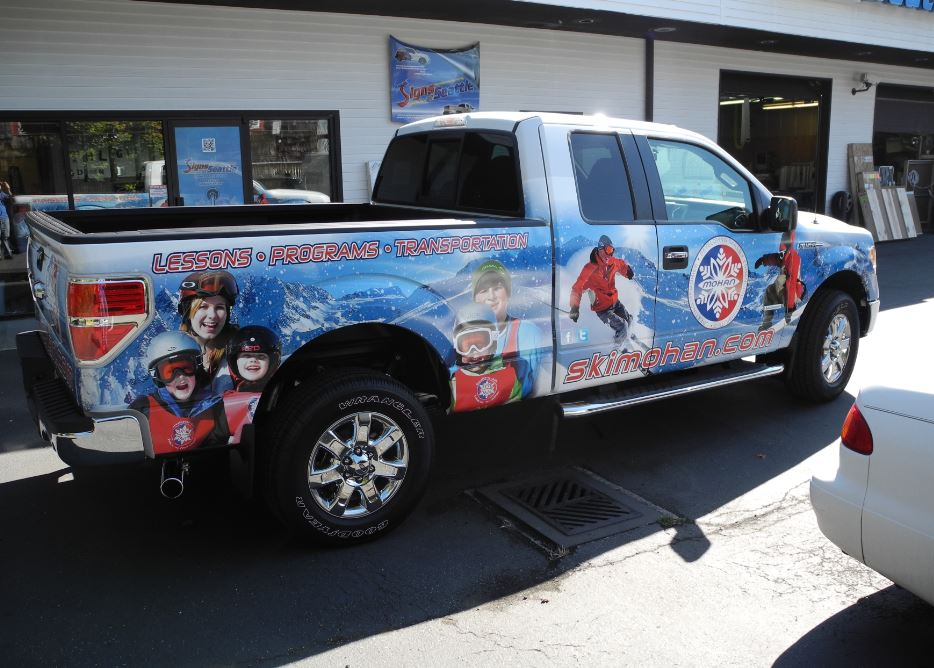Pickup Graphics Wrap