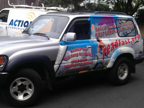Vehicle Graphics Signs Of Seattle