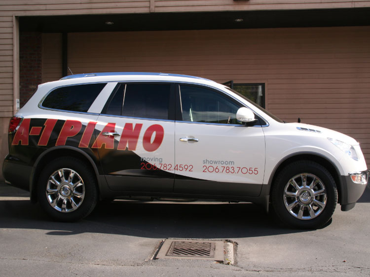 Suv Wraps Vinyl Signs Of Seattle