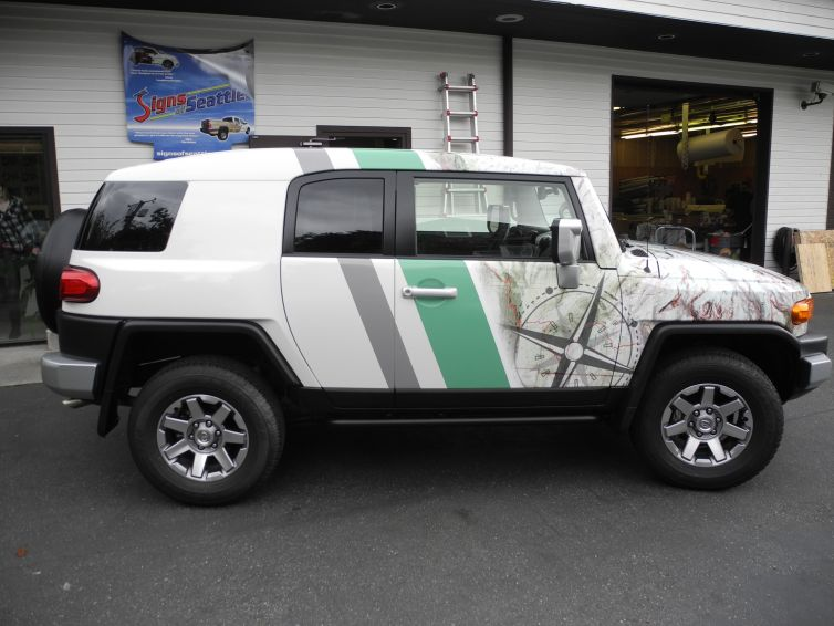 SUV Graphics Packages