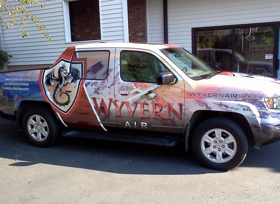 Truck Vinyl Wrap